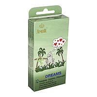Презервативы ребристые Amor wild Dreams, 12 шт.