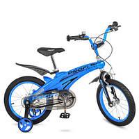 Велосипед дитячий PROF1 16Д. LMG16125 Проективної синій