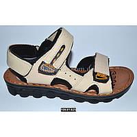 ca04492d1 Прошитые кожаные босоножки для мальчика, 38 размер (24.5 см), супинатор, 109