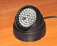 ИК IR инфракрасный прожектор для видеокамер с датчиком включения