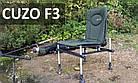 Кресло фидерное карповое М-Elektrostatyk F3 CUZO, фото 2