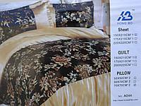 Постельное белье шелк Полуторное(Распродажа, цена от производителя)