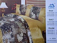 Постельное белье шелк Полуторное (Распродажа, цена от производителя)