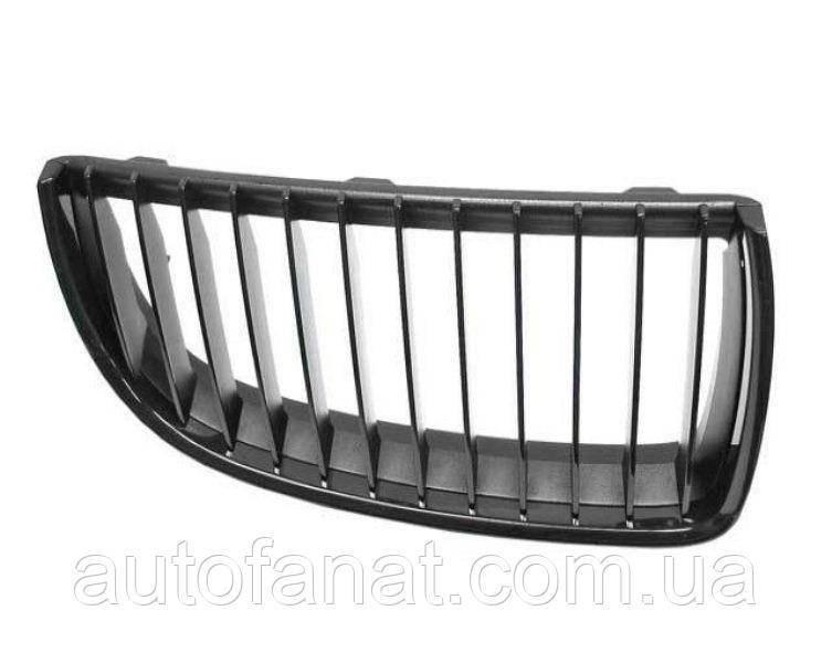 Оригинальная решетка радиатора черная левая M Performance BMW 3 (E90,E92,E93) (51712155450)