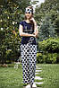 Женская пижама Shirly 5819, костюм домашний с повязкой на глаза для сна