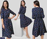 Стильное  платье     (размеры 42-48)  0170-37