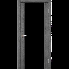 Двери KORFAD SR-01 (черное стекло триплекс) Полотно, фото 2
