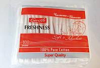 Ушные палочки Freshness 100 шт (пакет)