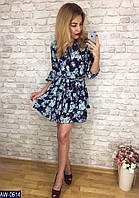 Стильное  платье     (размеры 42-48)  0170-39