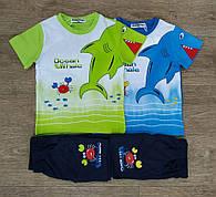 """Комплект для мальчика футболка+шорты на 12-18-24-30-36 мес """"Buddy Boy"""" Венгрия"""