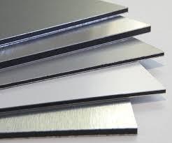 Алюмінієва композитна панель SKYBOND білий, лист 1250х5800 мм