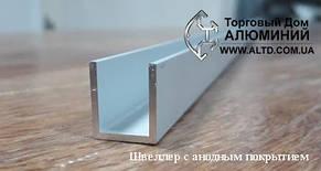 Швеллер алюминий | П образный профиль Без покрытия, 40х20х2 мм, фото 2