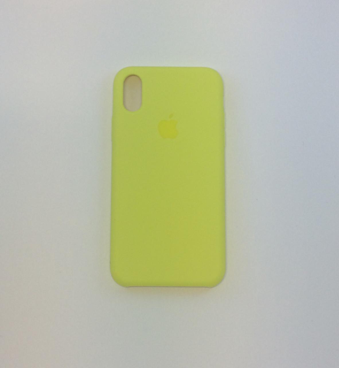 Силиконовый чехол для iPhone X, - «вспышка» - copy original