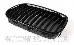 Оригинальная решетка радиатора черная правая M Performance BMW 5 (F10) (51712165528)