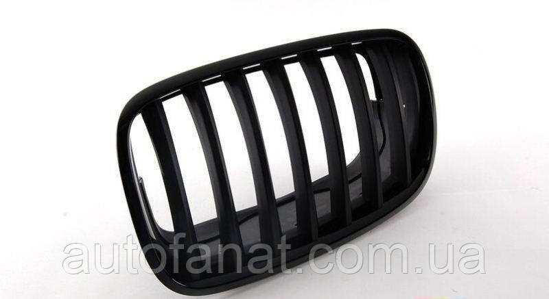 Оригинальная решетка радиатора черная правая M Performance BMW X5 (E70, E71, E72) (51712150246)