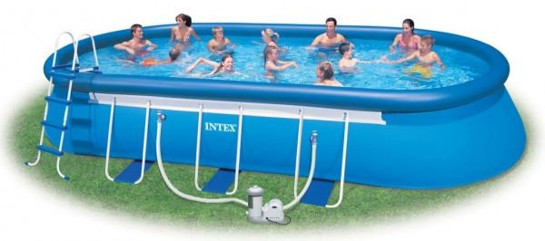 Надувной бассейн Intex 28194 (610*366*122 см)