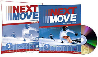 Английский язык / Next Move / Student's+Workbook+CD. Учебник+Тетрадь (комплект), 1 / Pearson