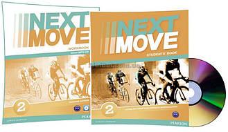 Английский язык / Next Move / Student's+Workbook+CD. Учебник+Тетрадь (комплект), 2/ Pearson
