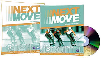 Английский язык / Next Move / Student's+Workbook+CD. Учебник+Тетрадь (комплект), 3/ Pearson
