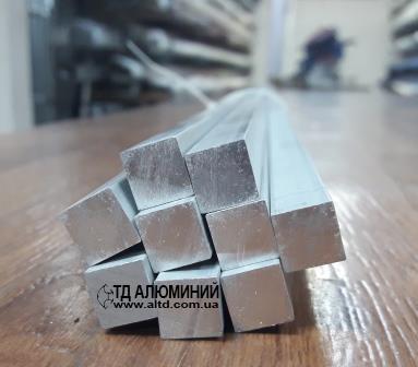 Полоса | Шина | Пластина алюминий, Анод, 10х10 мм