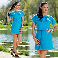Стильное летнее платье 246 гл $