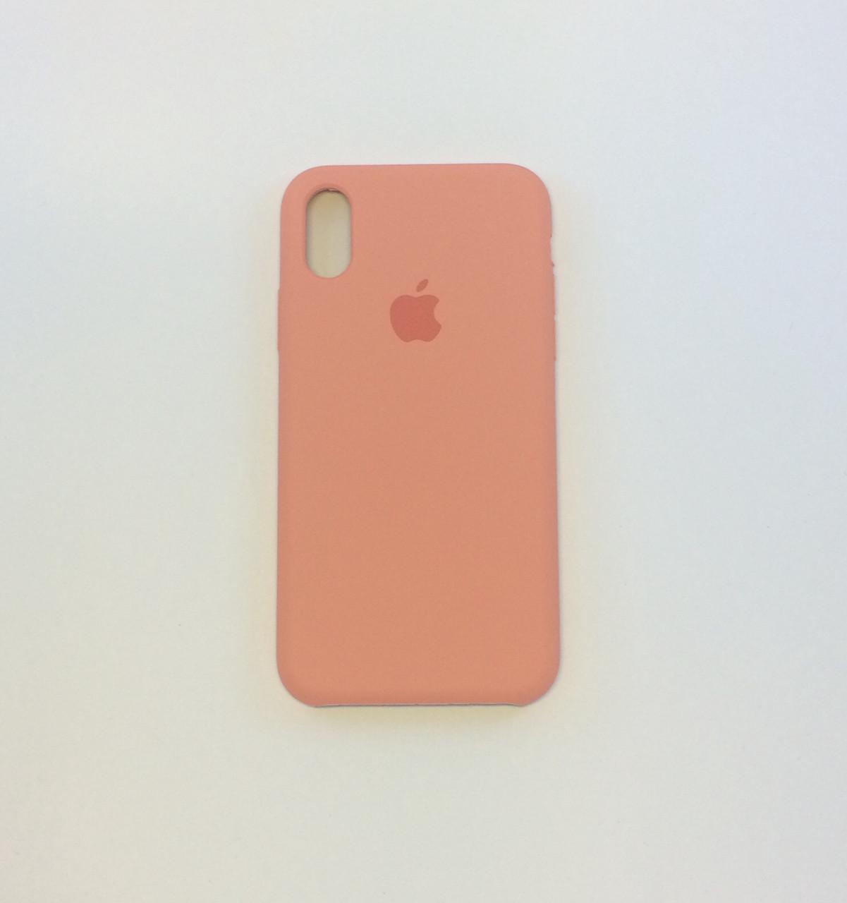 Силиконовый чехол для iPhone Xr, - «фламинго» - copy original