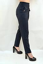 Брюки - леггинсы женские с карманами в больших размерах XL - 8XL Лосины с карманами (Польша), фото 2