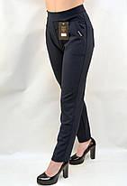 Штани - штани жіночі з кишенями у великих розмірах XL - 8XL Лосини з кишенями (Польща), фото 3