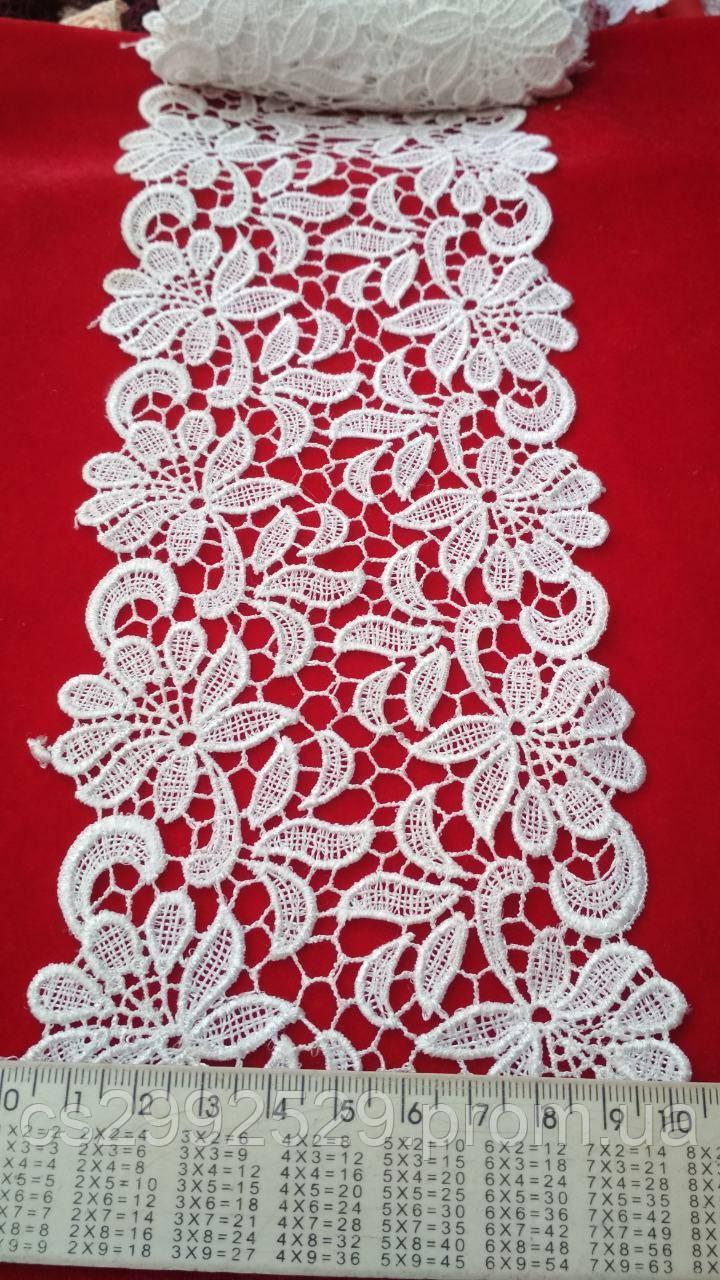 Тесьма цветы 20 метров. Кружево для пошива и декора одежды