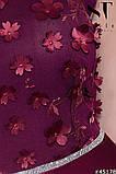 Женское вечернее комбинированное платье длинное в пол.(5расцв)  48-52р., фото 4