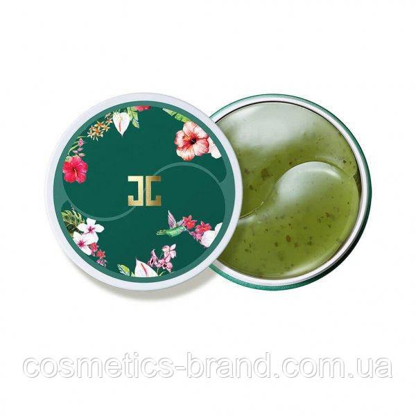 Гідрогелеві патчі JAYJUN GREEN TEA EYE GEL PATCH з зеленим чаєм