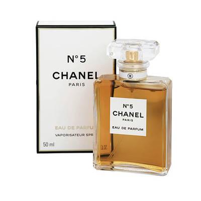 Оригинальные женские духи CHANEL №5 Eau de Parfum 50ml парфюмированная вода, цветочный древесный аромат