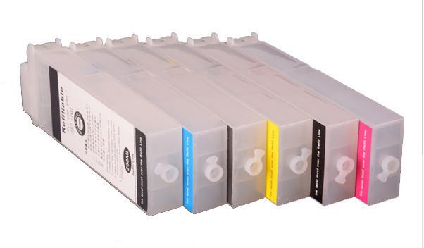 Перезаправляемые картриджи Ocbestjet тип F4 для плоттеров Canon iPF650/iPF750 без чипов (6 шт. по 260 мл)