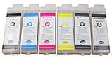 Перезаправляемые картриджи Ocbestjet тип F4 для плоттеров Canon iPF650/iPF750 без чипов (6 шт. по 260 мл), фото 2