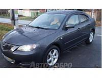 Дефлектор окон для Mazda 3 I Sd 2003-2008