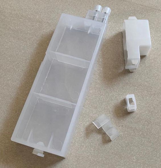 Перезаправляемый картридж Ocbestjet тип F4 для плотерів Canon iPF605/iPF710 без чіпа (260 мл)