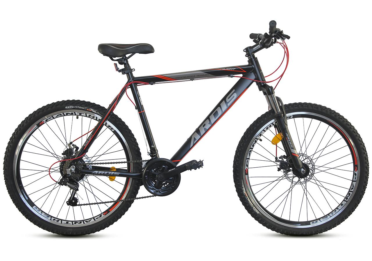 """Горный велосипеды ARDIS SUNLIGHT MTB 26"""" 21""""""""15""""13""""  Черный/Красный"""