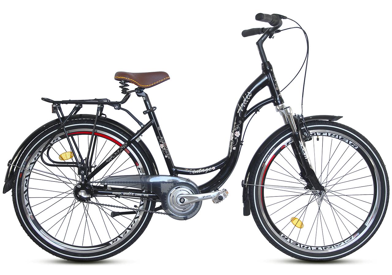 """Городской велосипед ARDIS VINTAGE 26"""" 17""""  Черный"""