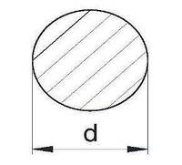 Пруток алюминиевый   Кругляк - диаметр 2мм