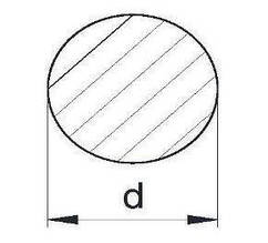 Пруток алюминиевый | Кругляк - диаметр 3мм