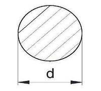 Пруток алюминиевый   Кругляк - диаметр 5мм