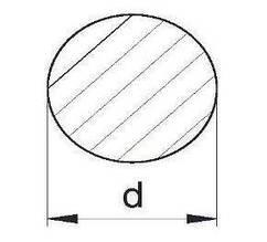 Пруток алюминиевый | Кругляк - диаметр 5мм