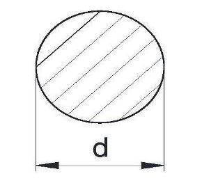 Пруток алюминиевый | Кругляк - диаметр 5мм, фото 2
