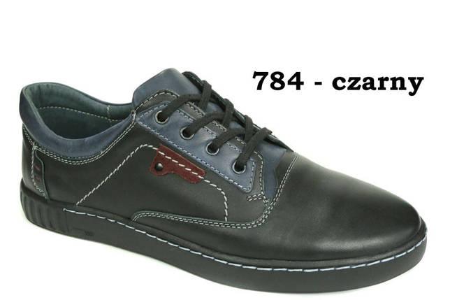 Літні мокасини чоловічі туфлі всі розміри натуральна шкіра Mateos, фото 2