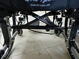 Легкая Алюминиевая Инвалидная Коляска, фото 4