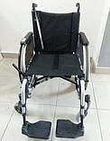 Легкая Алюминиевая Инвалидная Коляска, фото 2
