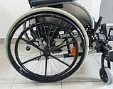 Легкая Алюминиевая Инвалидная Коляска, фото 3