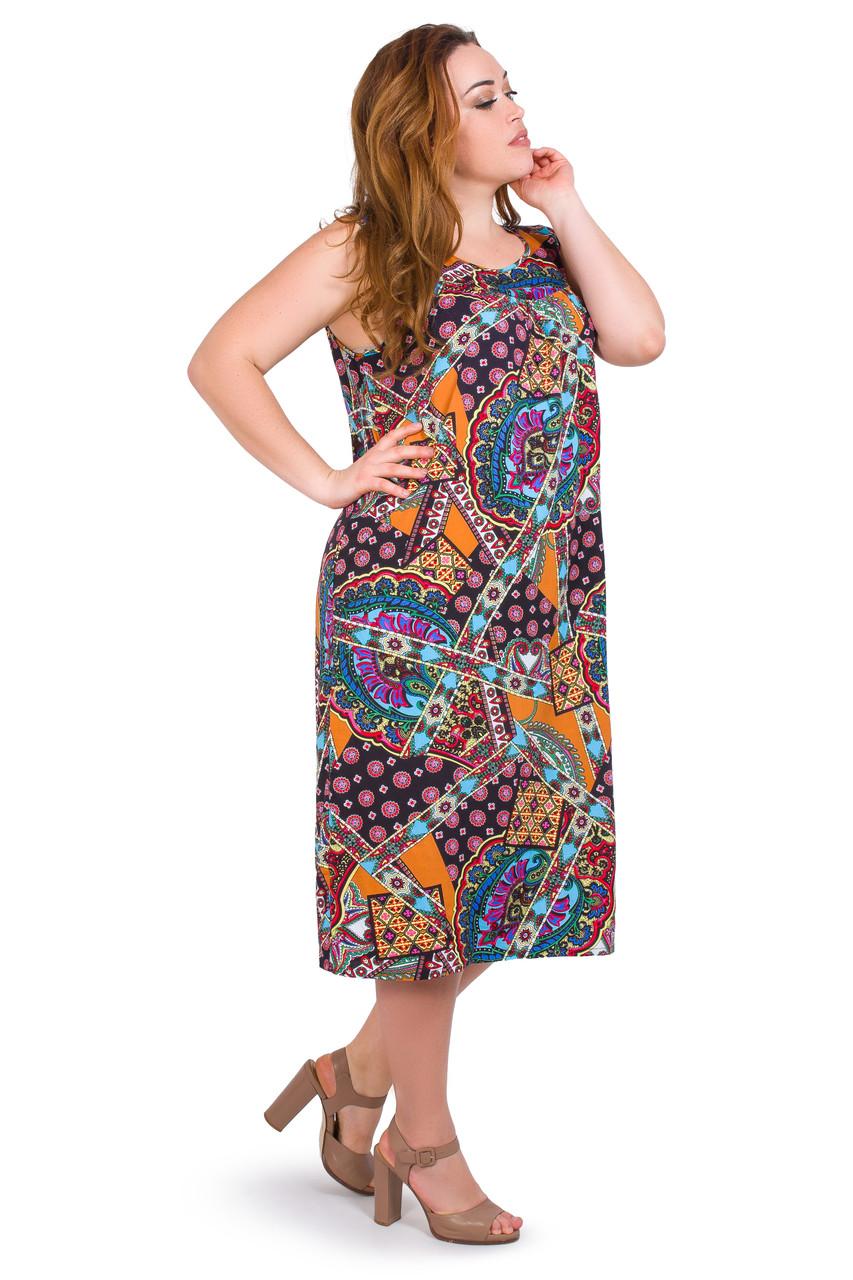Летнее платье 032-19