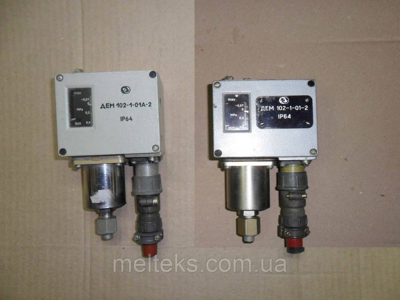 Реле давления ДЕМ 102-1-01-2, ДЕМ 102-1-01А-2, ДЕМ 102-2-01-2
