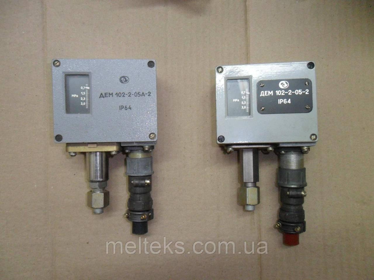 Реле давления ДЕМ 102-2-05-2, ДЕМ 102-1-05-2, ДЕМ 102-2-05А-2